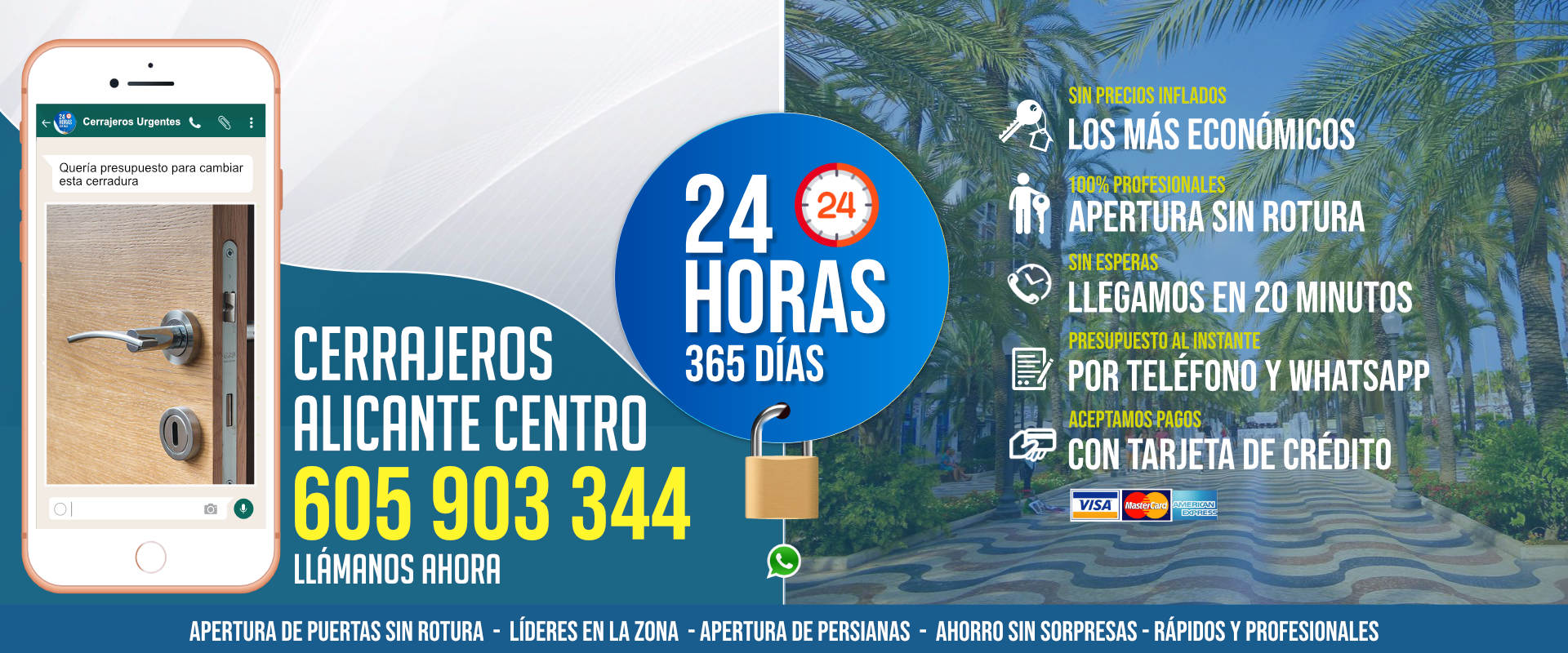Cerrajeros Alicante Centro 1