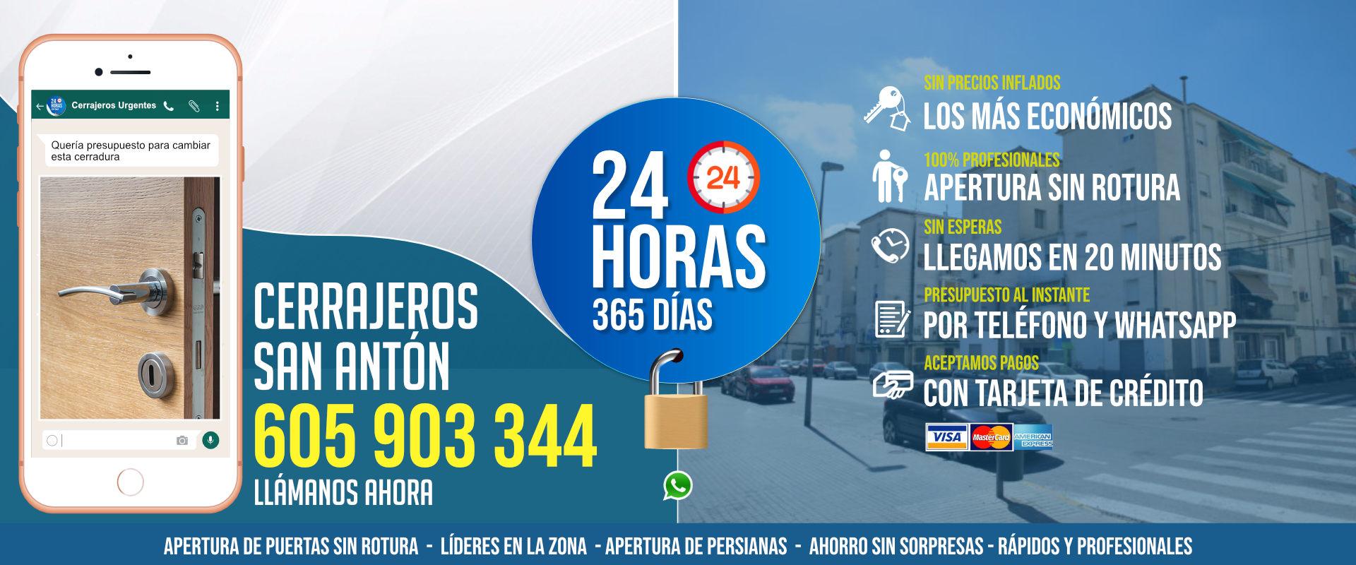 Cerrajeros San Antón 1