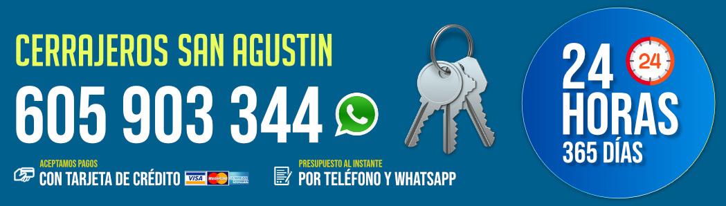 Cerrajeros San Agustín 8