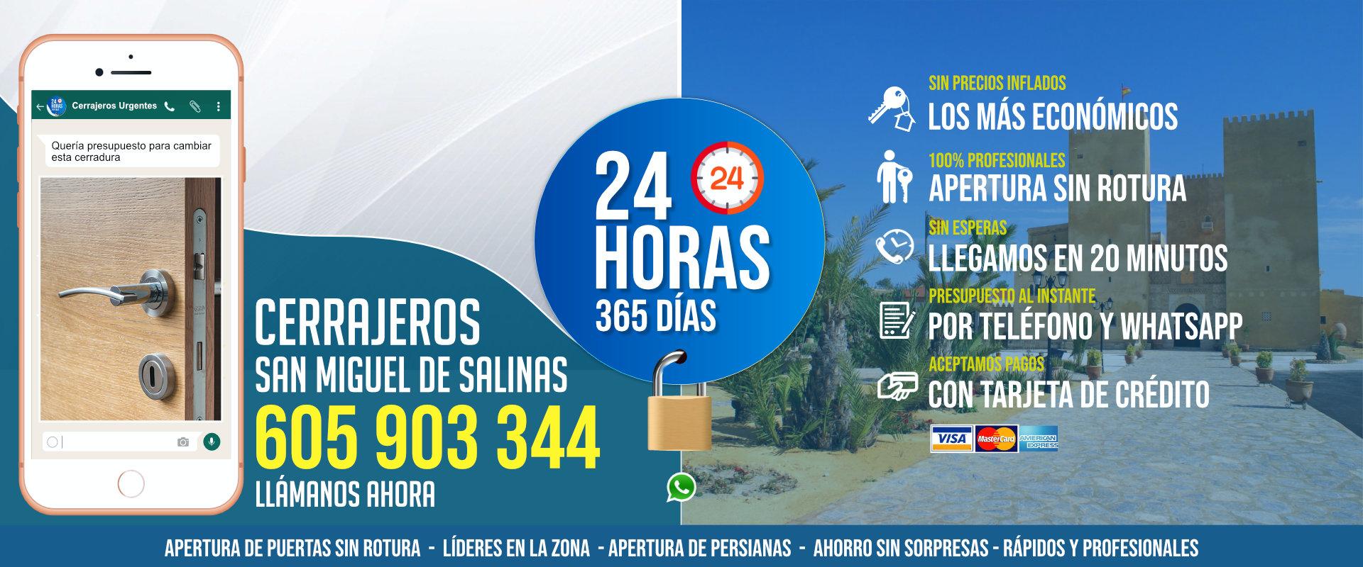 Cerrajeros San Miguel de Salinas 1