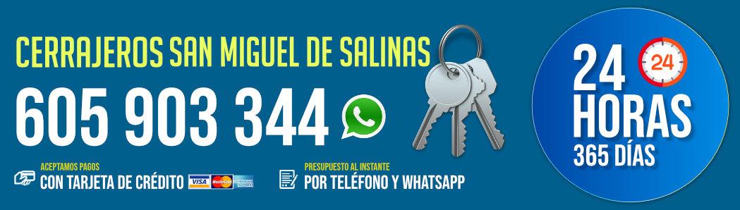 Cerrajeros San Miguel de Salinas 8