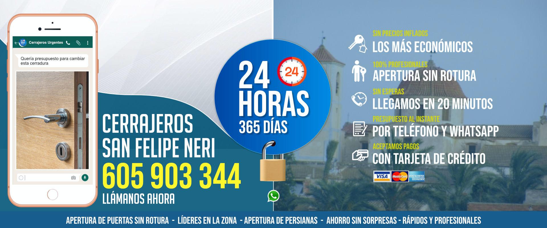 Cerrajeros San Felipe Neri 1