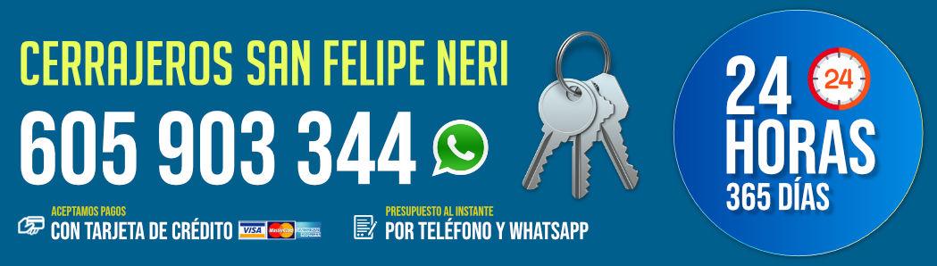 Cerrajeros San Felipe Neri 7